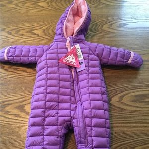NWT SNOZU Infant Girls Snowsuit Size 3-6 Months